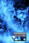 Cool Fire Live Wallpaper screenshot 1/1