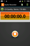 MP3 Audio Recorder screenshot 1/6