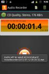MP3 Audio Recorder screenshot 2/6