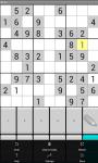Mobile Sudoku screenshot 1/2