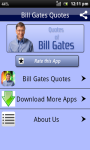 Bill Gates Famous Quotes SMS screenshot 1/3