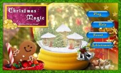 Free Hidden Objects Game - Christmas Magic screenshot 1/4