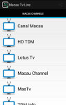 Macau Tv Live screenshot 1/4