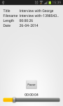 Audio Recorder Free screenshot 3/3