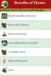 Benefits of Thyme screenshot 2/3