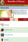 Benefits of Thyme screenshot 3/3