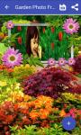 Garden photo frame pic screenshot 4/4
