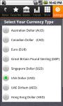 Dollar Pound Euro Dirham to Rupee Exchange Rates screenshot 1/6