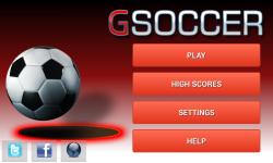 GSoccer screenshot 1/5