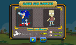Sonic VS Simpson screenshot 2/5