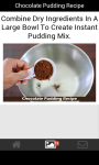 Chocolate Pudding Recipe screenshot 2/4