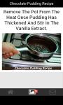 Chocolate Pudding Recipe screenshot 4/4