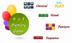 Memory Games For Adults screenshot 1/6