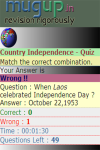 Countries by Independence Day Quiz screenshot 3/3