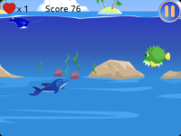 Jumping Dolphin - Ocean Survival screenshot 4/4