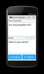 Word Language Translator App screenshot 2/4