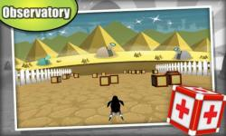 Penguin 3D Racing: Cube Wars screenshot 3/5