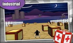 Penguin 3D Racing: Cube Wars screenshot 4/5