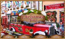 Free Hidden Object Games - Christmas Time screenshot 1/4