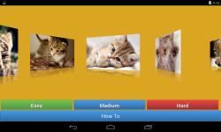 Kitten Cat Jigsaw Puzzle Game screenshot 2/6