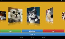 Kitten Cat Jigsaw Puzzle Game screenshot 3/6