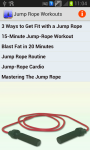 Jump Rope Workouts screenshot 1/2