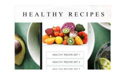 healthy recipes food screenshot 1/3