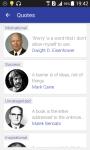 Quotes App screenshot 2/5