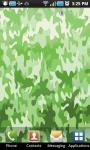 Color Camouflage Live Wallpaper screenshot 1/2