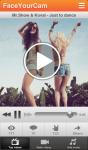 FaceYourCam music videos making screenshot 2/6