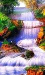 Dreamy Waterfall Live Wallpaper screenshot 2/3