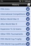 FIFA History World Cup Futball screenshot 2/3