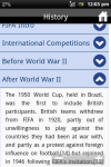 FIFA History World Cup Futball screenshot 3/3