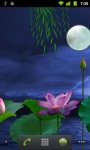Lotus Moon LWP HD screenshot 1/6