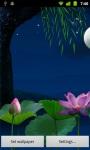 Lotus Moon LWP HD screenshot 2/6