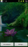Lotus Moon LWP HD screenshot 3/6