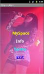 Myspace_Zone screenshot 2/4