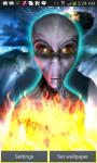Alien Attack UFO Crash LWP screenshot 1/3
