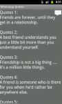 WhatsApp Lovable Quotes screenshot 4/4