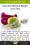 How to Lose Weight Fast Articel screenshot 1/5