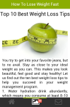 How to Lose Weight Fast Articel screenshot 4/5