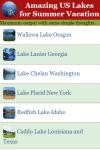 Amazing US Lakes for Summer Vacation screenshot 1/2