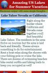 Amazing US Lakes for Summer Vacation screenshot 2/2