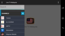 Malaysia Live TV screenshot 1/1