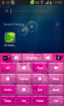 Go Keyboard Pink Love Free screenshot 4/6