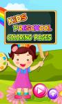 Kids Preschool Coloring Pages screenshot 1/5
