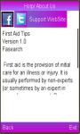 Basic First Aid Tips screenshot 2/3