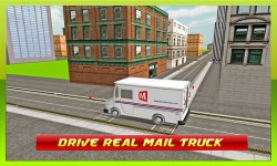 TRANSPORT TRUCK: MAIL DELIVERY screenshot 2/4