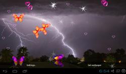 3D Lightning Storm Live Wallpapers screenshot 2/5