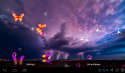 3D Lightning Storm Live Wallpapers screenshot 4/5